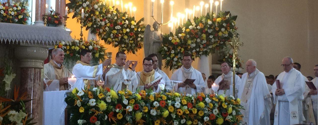 Misa en la solemnidad de la Reina de la Paz