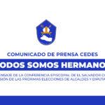 COMUNICADO DE PRENSA CEDES 9/FEBRERO/2021